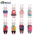 Metoo милый кролик Супер Качество Милые куклы плюшевые Мягкие игрушки Животных для Детей день рождения Префект подарок