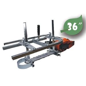 Image 1 - Farmertec Made 36 אינץ Holzfforma נייד Chainsaw טחנת קרשי כרסום 14 כדי 36 מדריך בר מסורים חשמליים שרשרת מסור