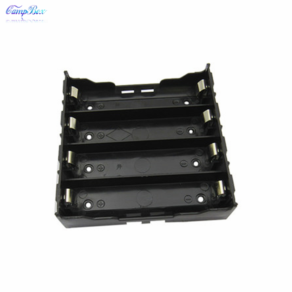 50Pcs 4x18650 Lithium Battery Case Holder Socket Wire Junction Box With Solder Lugs Pins