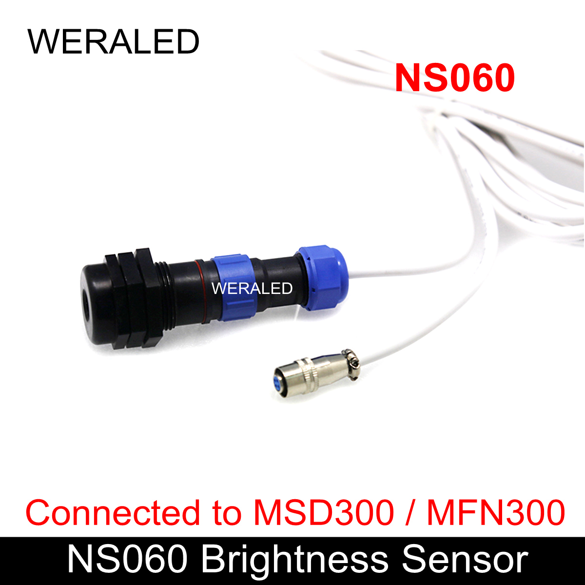 Novastar NS060 Light Sensor,Ambient Brightness Sensor, Work with MSD300/600 sending ,T3 Asynchronous and MFN300 card)Novastar NS060 Light Sensor,Ambient Brightness Sensor, Work with MSD300/600 sending ,T3 Asynchronous and MFN300 card)
