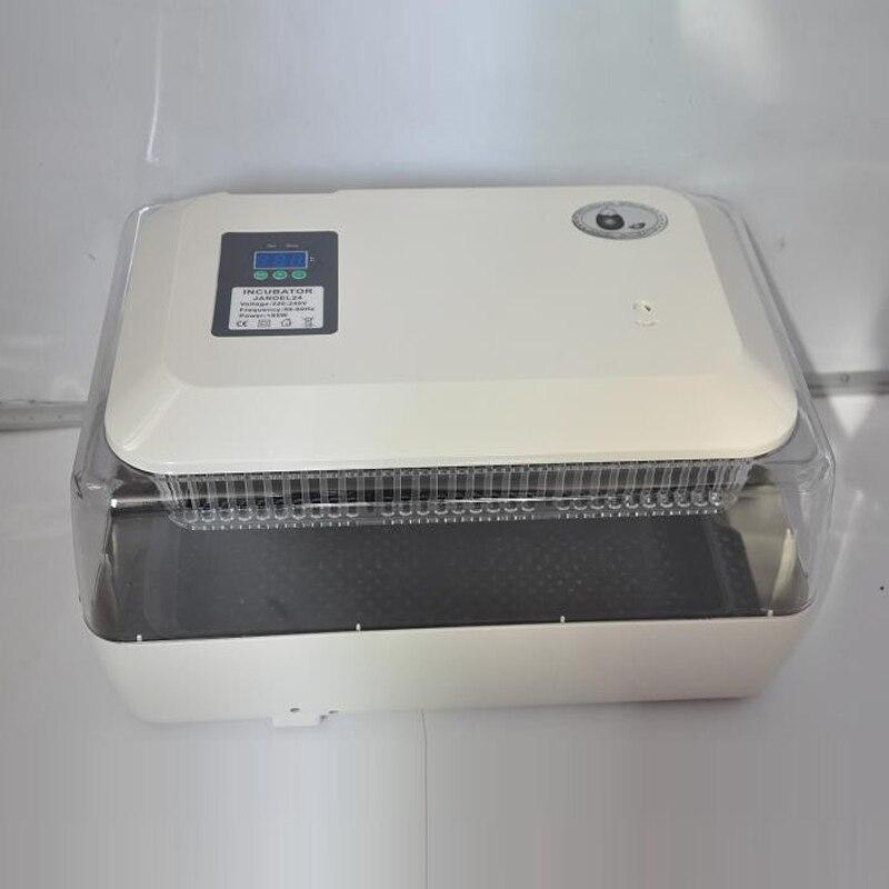 Full Automatic Egg Incubator Digital Poultry Hatcher Hatching 24 Chicken Eggs  цены