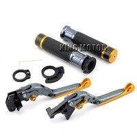For SUZUKI GSR600 GSR750 GSX S 750 GSR 600 GSR 750 Adjustable Folding Brake Clutch Levers