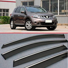For Nissan MURANO 2010-2014 Window Wind Deflector Visor Rain/Sun Guard Vent