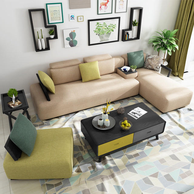 Swell Us 1299 0 Cbmmart Best Quality Fabric Leisure Sectional Sofa Modern Couch In Living Room Sofas From Furniture On Aliexpress Com Alibaba Group Spiritservingveterans Wood Chair Design Ideas Spiritservingveteransorg