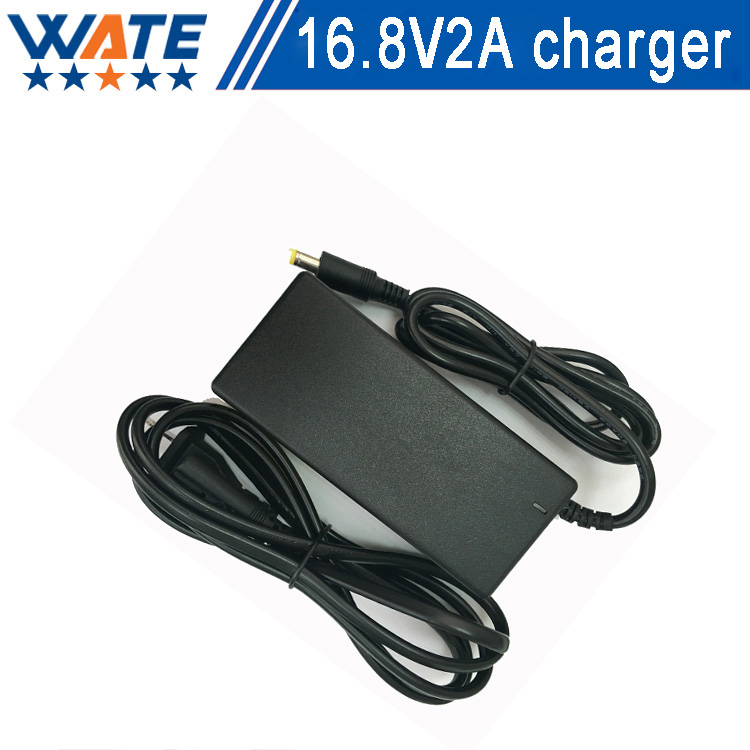 16.8V 2A Charger 4S 14.8V Li-ion Battery Charger Output DC 16.8V Lithium polymer battery Charger Free shipping