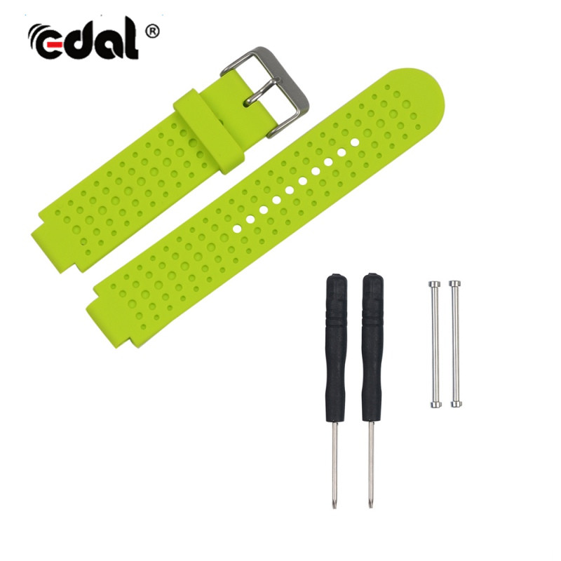 Watchbands for Garmin Forerunner 220 230 235 630 Smart Watch Replacement Strap Silicone Watchbands With Pins & Tools