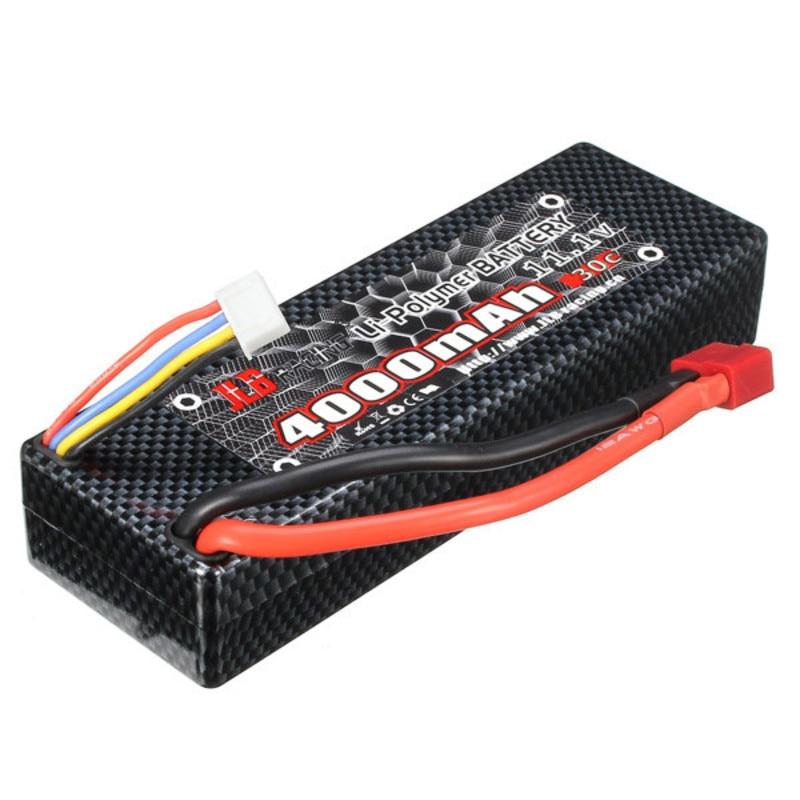 JLB Racing CHEETAH 1/10 Brushless RC Car Battery 11.1V 4000mAh 30C T Plug For Rc Car jlb racing cheetah 1 10 brushless rc car truggy 21101 2pcs wheel