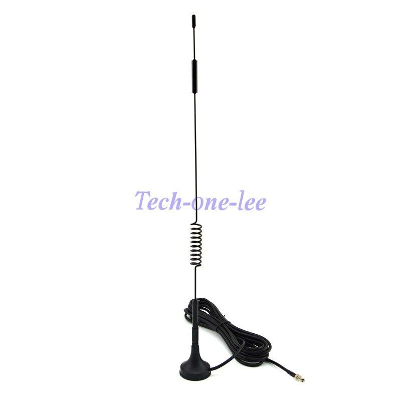imágenes para NUEVA 4G 7-8 dbi Antena LTE 4g Antena 698-960 Mhz de Doble Tornillo con base magnética rg174 ts9 enchufe masculino 1 m para huawei e5372 e5375
