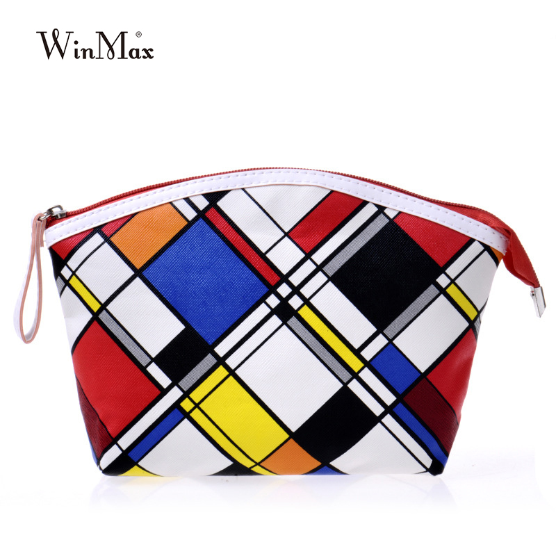 2016 New Fashion High-quality Leather coin purse Women rainbow plaid Short Wallets light color  girls money collector organizer high quality leather cute women s wallets coin purse leather short women leather wallets girls best gift free shipping