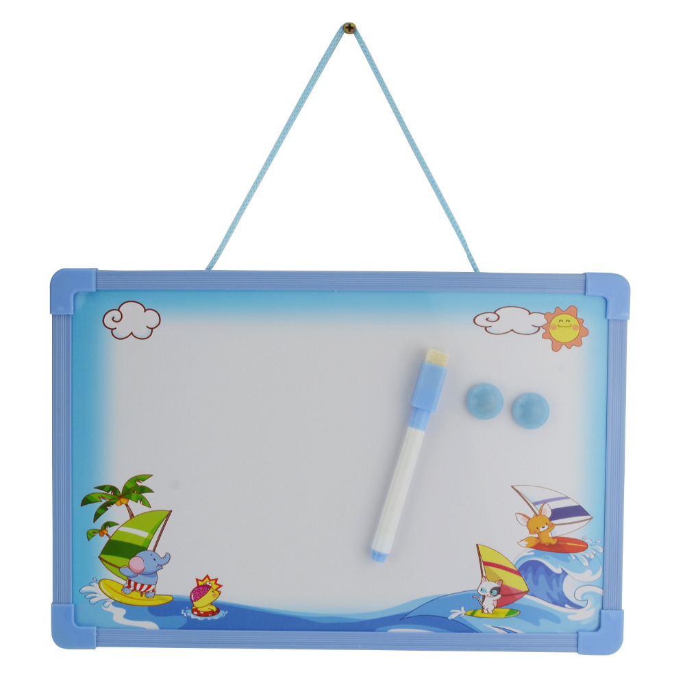 Whiteboard Kids Set Small Message Hanging Board For Home Cl School Drawing Education 1pen 2 Magnets 1board In From Office Supplies