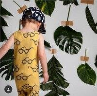 Yenidoğan Yaz Tulum 2017 Sevimli Toddler Kız Bebek Erkek Ekose Jumpers Tulum Playsuit Giyim Giyim 0-24 M Ücretsiz Shiiping