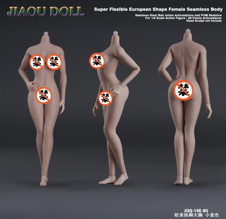 super flexível forma europeia (grande busto) corpo