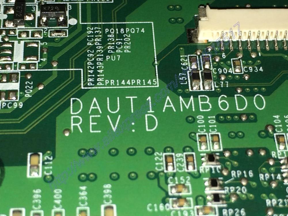EMS DHL Free DAUT1AMB6D0 REV : D For HP Pavilion DV7 Serise Laptop Motherboard PN: 509403-001 Mainboard