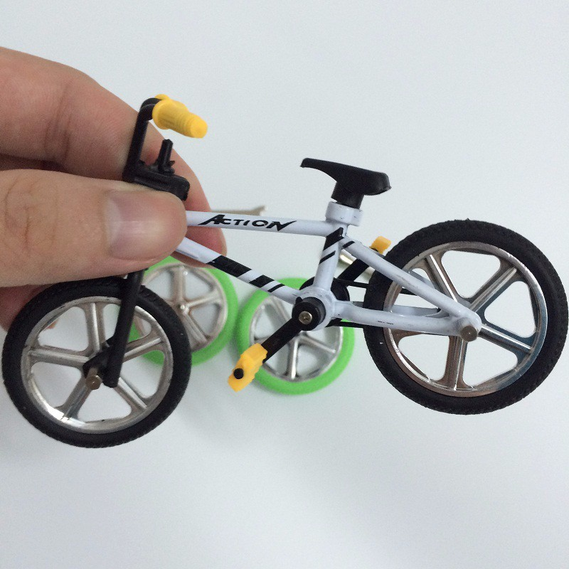 Alloy Mini Bmx Finger Mountain Bikes Toys Retail Box 2pcs Spare