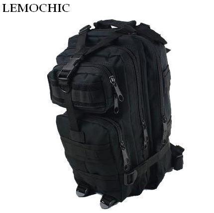 Lemochic lona 3 P camuflaje militar mochila táctica motocicleta Denim  Escuela de viajes deportes camping senderismo dbb7c8053fa51