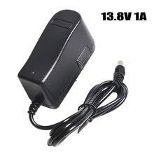 13.8 V bateria litowa ładowarka 12.8 V 1A ładowarka akumulatorów kwasowo ołowiowych 13.8 V 1A polimer ładowarka DC 5.5*2.1 MM