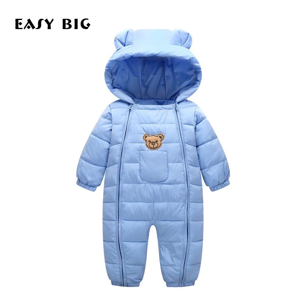 cdcfb424a Abrigo de invierno con capucha para bebés para niñas, abrigos Parkas Unisex  para recién nacidos, para niños, BC0020 ~ Perfect Deal June 2019