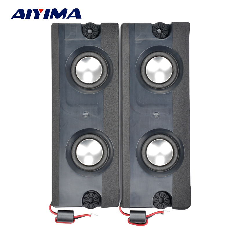 AIYIMA 2Pcs 1Inch Mini Audio Portable Speakers 8Ohm 5W Full Range Speaker DIY For Home Theater