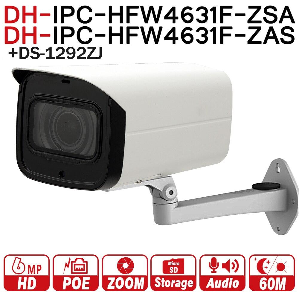 Dahua 6mp сети Камера ipc-hfw4631f-zsa 2.7-13.5 мм VF объектив пуля Камера с микрофоном слот для карт SD