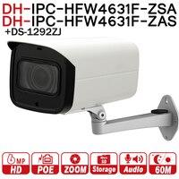 Dahua 6mp сети Камера ipc hfw4631f zsa 2.7 13.5 мм VF объектив пуля Камера с микрофоном слот для карт SD