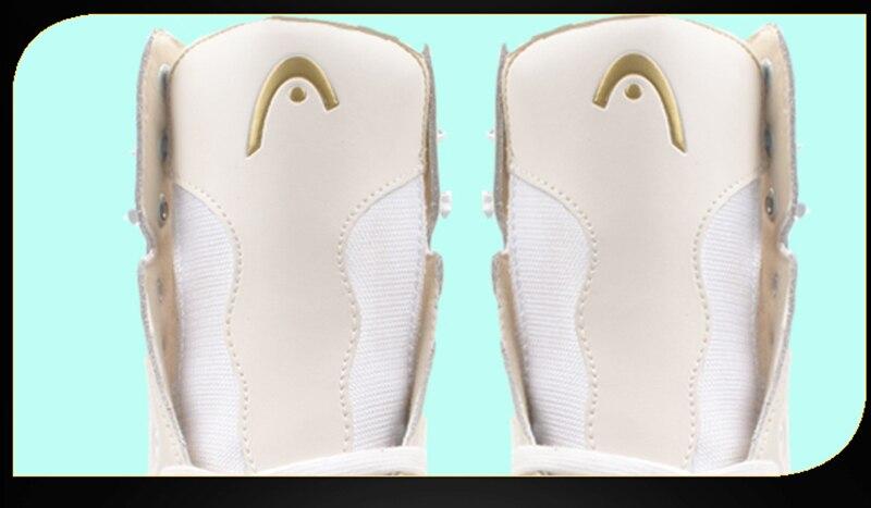 Femmes Enfants 2018 Hiver Adulte Professionnel Thermique Chaud Épaississent Glace Figure Patins Chaussures Avec Glace Lame PU Imperméable À L'eau - 3