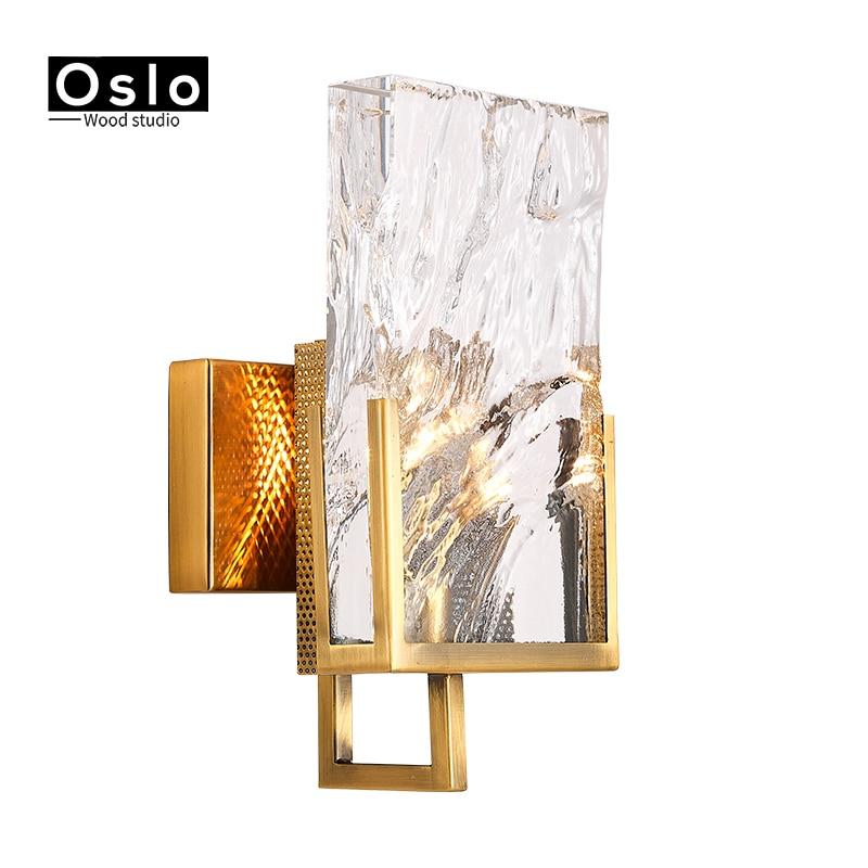 Crystal Wall Sconce Modern Wall light Indoor Decorative ... on Modern Indoor Wall Sconce id=17164