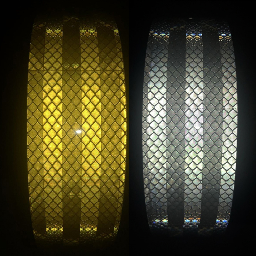 5CMX5M  PET Reflective Tape Sticker For Bicycle Protection Bicycle Decals Stickers Protection For Bicycles Stickers