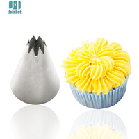 Baking Tools 1pcs Stainless Steel Icing Piping Nozzles Pastry Tip Cupcake Decorating Tools Set