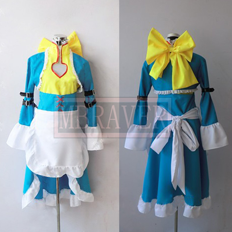 Code Geass Nunnally Vi Britannia anime costume cosplay