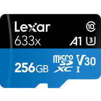 ¡100% Original! Tarjeta de memoria Lexar 256GB 512GB Micro SD SDXC tarjeta TF de alta velocidad Class10 633X 95 M/s U3 V30