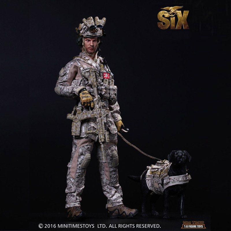U.S.Navy Seals Six Team Commandos 1/6 Soldiers Model Set with Dog Action & Toy Figures Gift Collection ancient knight 28pcs set soldiers and horses medieval model toy soldiers figures