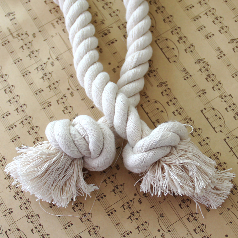 ZHH 1 дана Twisted арқан Curtain Tieback Holdbacks - Үйдің декоры - фото 5