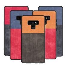 Phone case for Samsung Galaxy Note 9 Case Note 8 Luxury Cover Coque Anti Slip Back Cover for Samsung Galaxy S9 plus S8 Plus Case s style anti slip protective tpu back case for samsung galaxy young s6310 black
