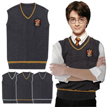 Harry Potter Sweater Vest Clothing store Gryffindor Raven claw Cosplay