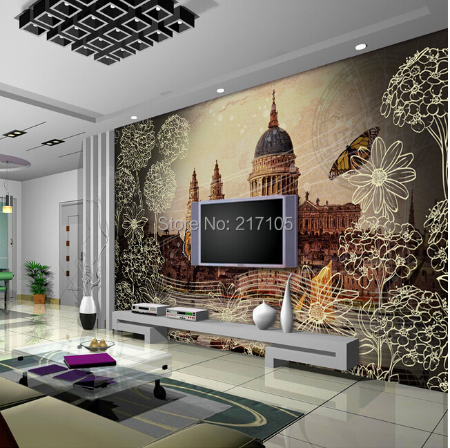 Custom wallpaper Venice Shuicheng governor church murals for the living room room background wall paper 3D vinyl wallpaper pantanetti балетки