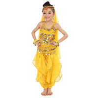 2018 New Style Child Belly Dance Costumes Kids Belly Dancing Girls Bollywood Indian Performance Cloth 6