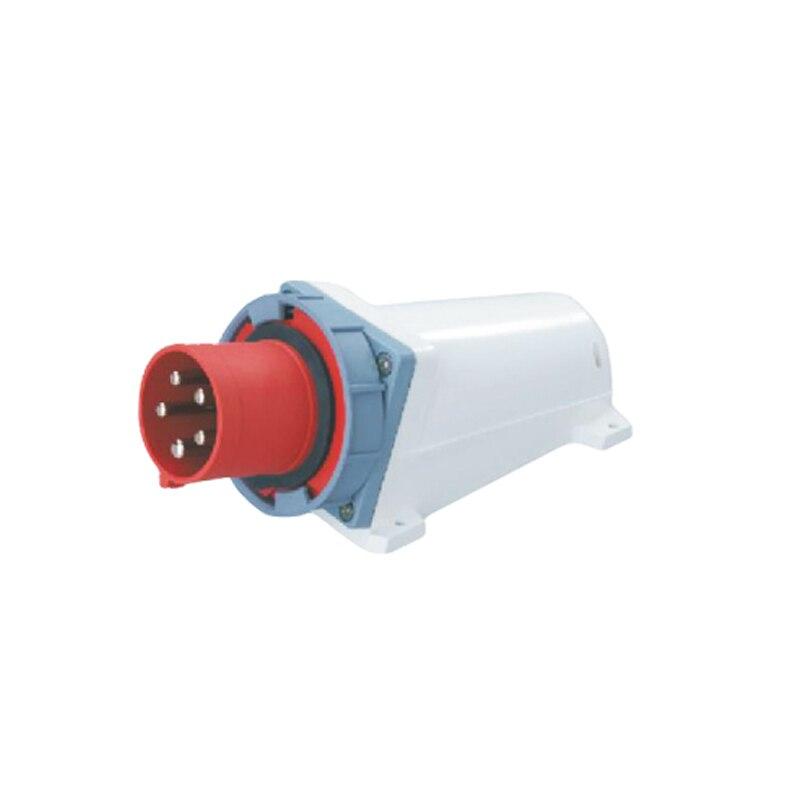63A 5Pin 380-415V Novel industrial waterproof appliance socket Waterproof grade IP67 SFN-5352  63a 3pin 220 240v industrial waterproof concealed appliance plug waterproof grade ip67 sf 633
