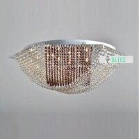 2 цвет шестиугольник светодиодные светильники потолочные для Обеденная спальня сообщению современные поверхностного монтажа дома LED lamparas