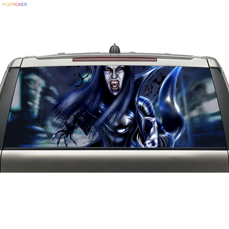 new hot selling products avery material car wrap sticker for rear windshield with free shipping