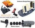 Alcance da antena Booster + controle remoto do telefone móvel Tablet PC suporte + gel De Sílica Tampa de Proteção Do Motor Para DJI Mavic Pro