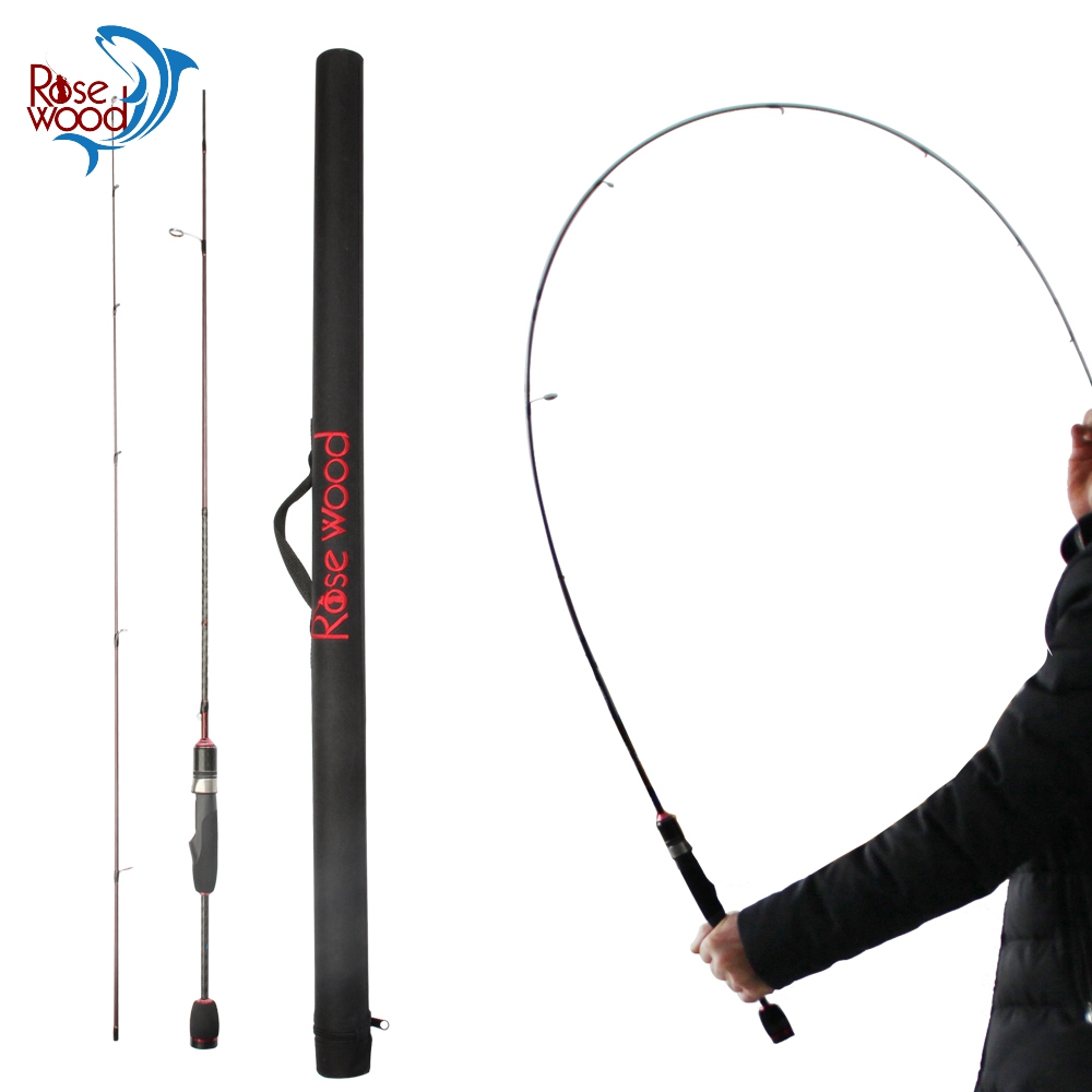 RoseWood Hot Professional Trout Fishing High Carbon Fast Action 1 8m Trout Rod Spinning And Casting
