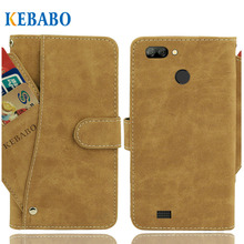Vintage Leather Wallet NOA Fresh 4G Case 5.5 Flip Luxury 3 Front Card Slots Cover Magnet Stand Phone Protective Bags