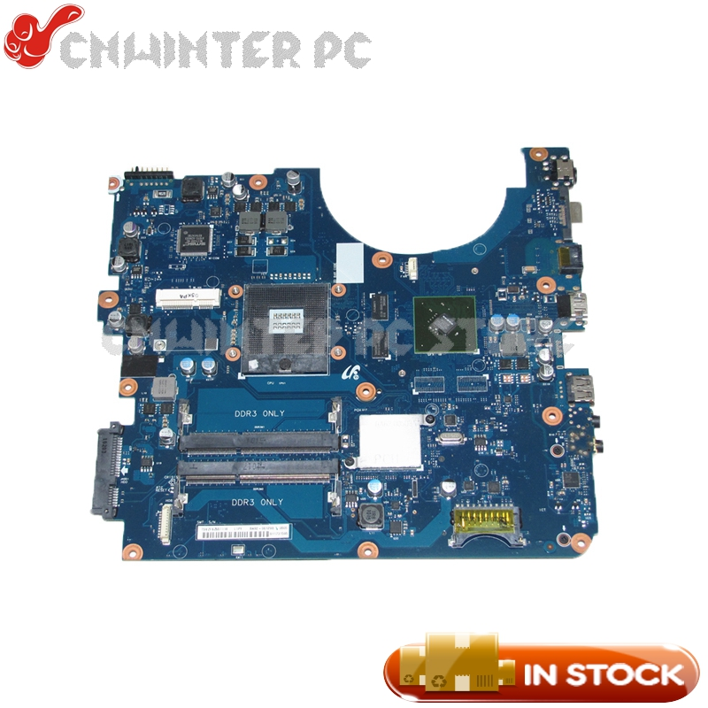 NOKOTION For Samsung R580 R560 Laptop motherboard HM55 DDR3 GT310M Video card BA92-06129A BA92-06129B BA41-01174A nokotion for samsung r530 laptop motherboard ba92 06346a ba92 06346b ba41 01227a pm45 gt310m ddr3