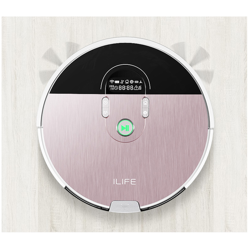 ILIFE X785 new planned robot vacuum cleaner with App control ,Smart Memory,Map Navigation,Wet Dry mop,Robot Aspiador camera guard video call robot intelligent vacuum cleaner wet dry with map navigation wifi app control smart memory water tank