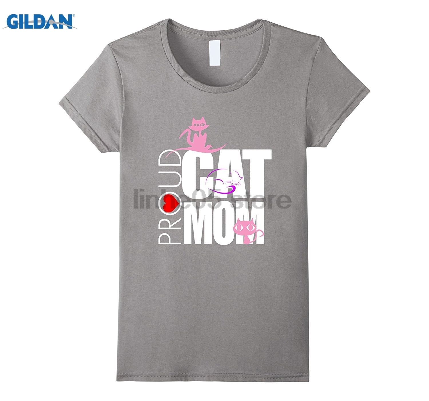 GILDAN PROUD MOM T-SHIRT Hot Womens T-shirt
