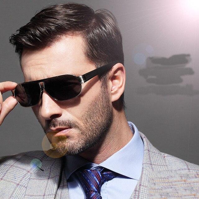 Óculos steampunk Homens Carter Óculos de Sol raios quentes Polarizado  Masculino óculos de Sol Marca designer 6e861ed6e2