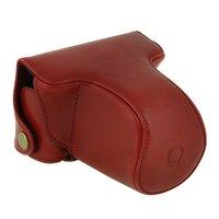 For Pentax Q Q10 Camera Case 8 5mm 5 15mm Lens PU Leather Case Camera Bag
