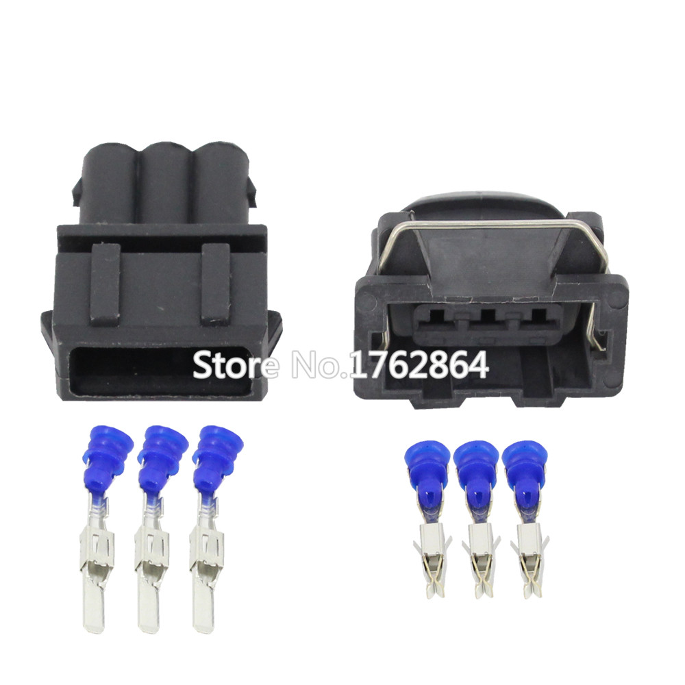 50 sets Fog automotive wiring harness plug connector with terminal sheath  cars DJ7032 3.5 11/21 3P-in Connectors from Lights & Lighting on  Aliexpress.com ...