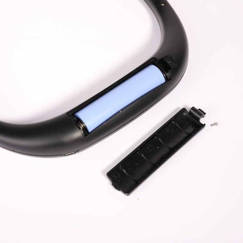 Новый USB Перезаряжаемые носимых Портативный свободная рука шейным вентилятор персональных мини шеи двойные вентиляторы 3 Скорость