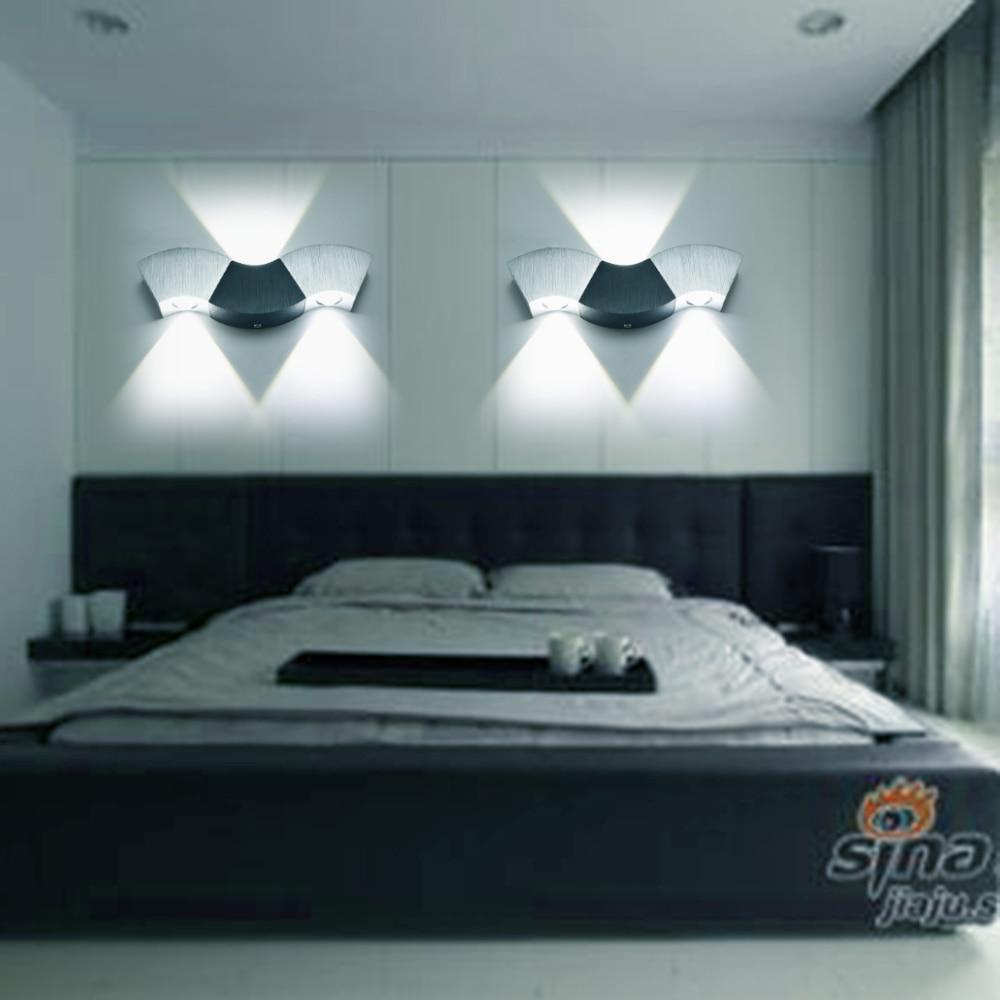 Luminária de parede led de alumínio 110v